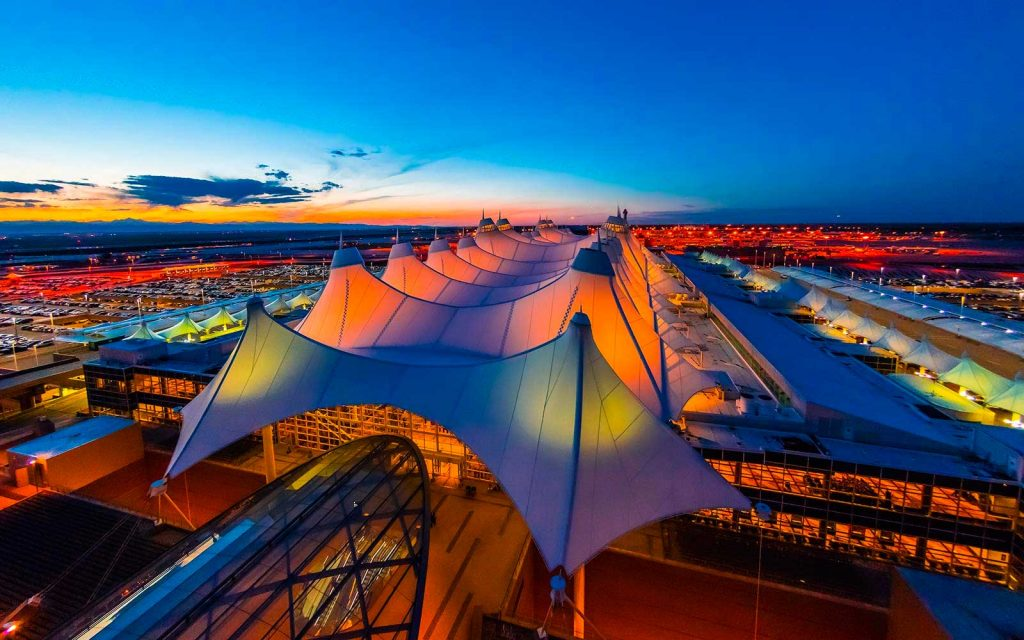 CMTS project at the Denver International Airport