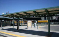 Transit station at Denver Regional Rail