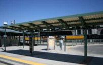 Transit station at Denver Regional Rail