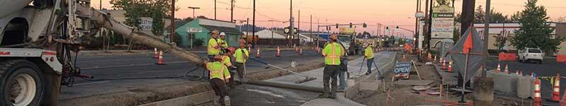 Bus Rapid Transit infrastructure construction