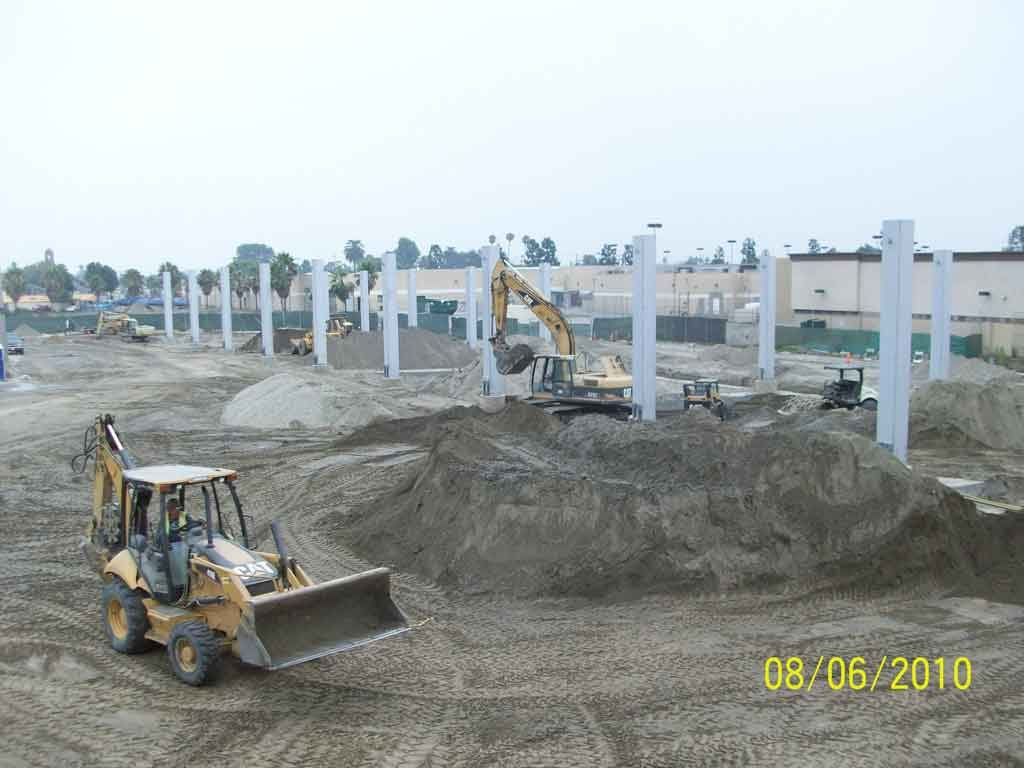 Construction of new center