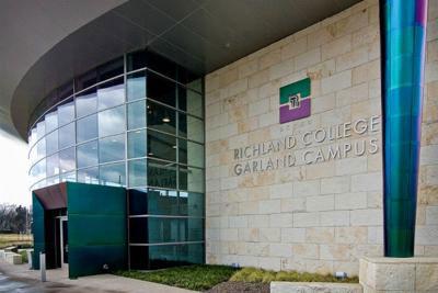 Richland College Garland Campus. Photo courtesy of Richland College.