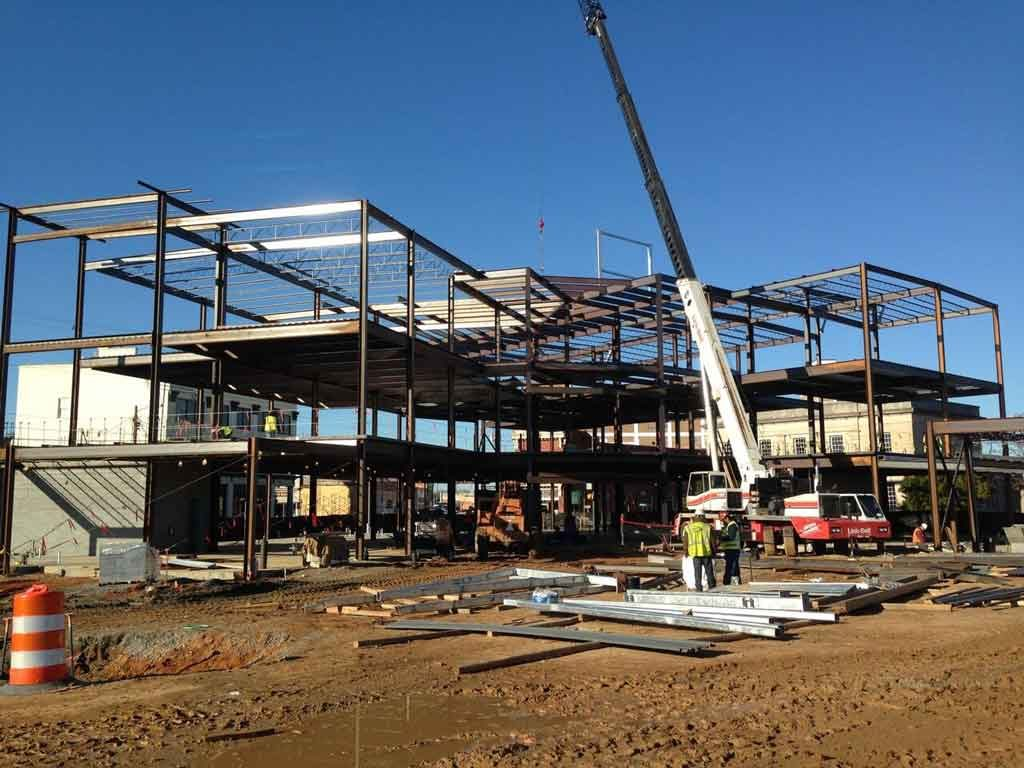 Biotech and Medical Simulation Center under construction