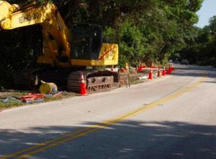 Fort Lauderdale public works program under construction