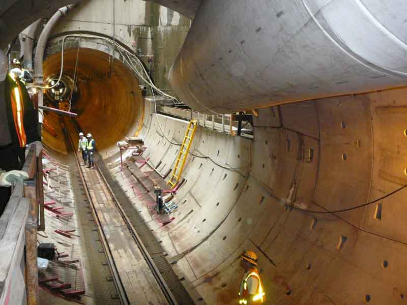 Inside the Big Pipe