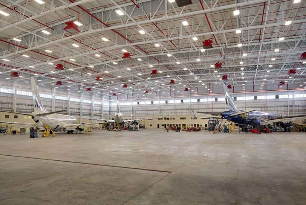 Hangar 955 at Jacksonville Airport. Photo courtesy of MIchael Baker International