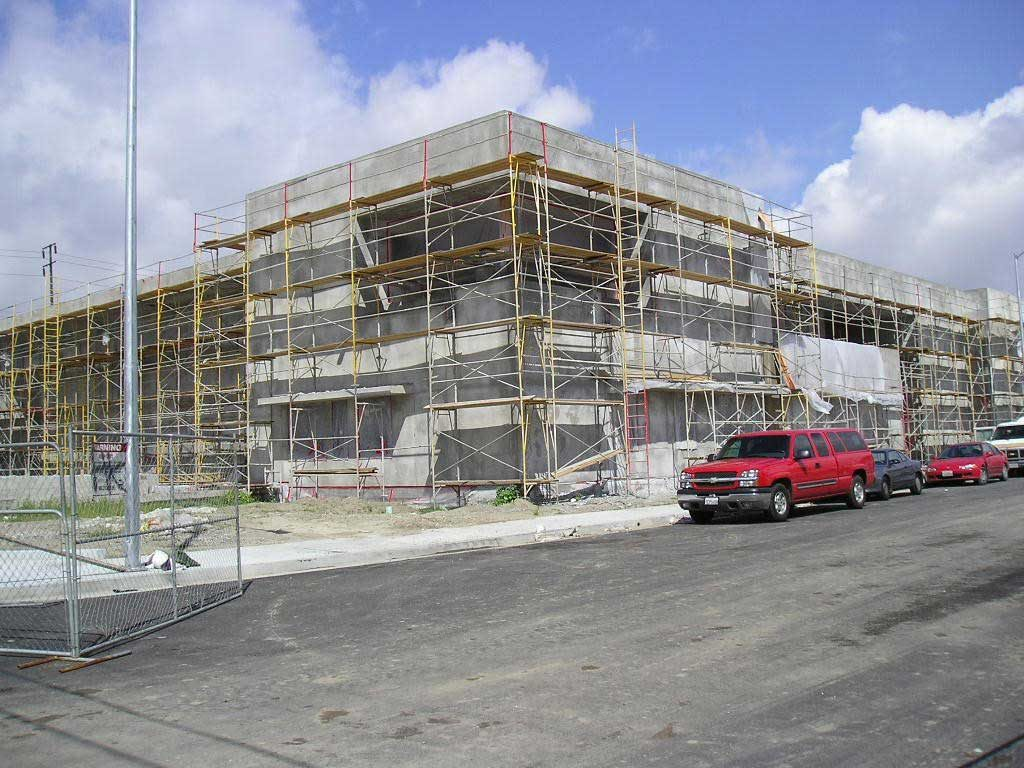 Los Angeles Unified School District headquarters under construction