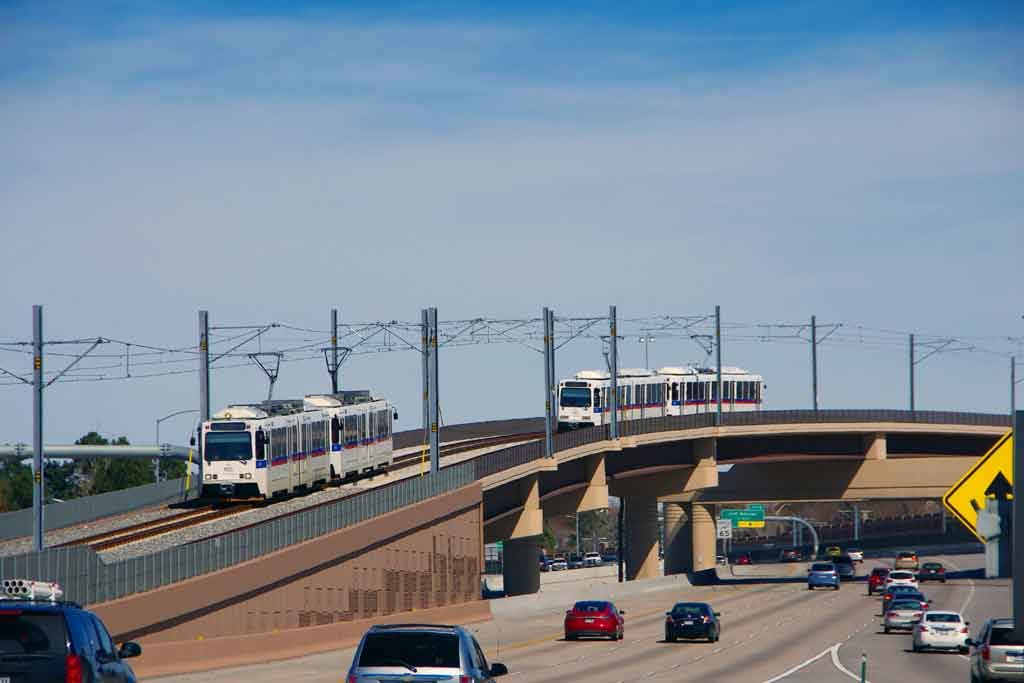 Denver Regional Rail. Photo courtesy of James W. Jenson Photography.