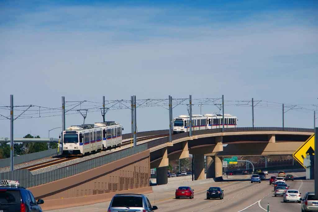 Denver Regional Rail. Photo courtesy of James W. Jenson Photography.