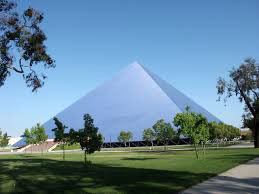Exterior of complete Pyramid Center. Photo courtesy of Summum/wikipedia