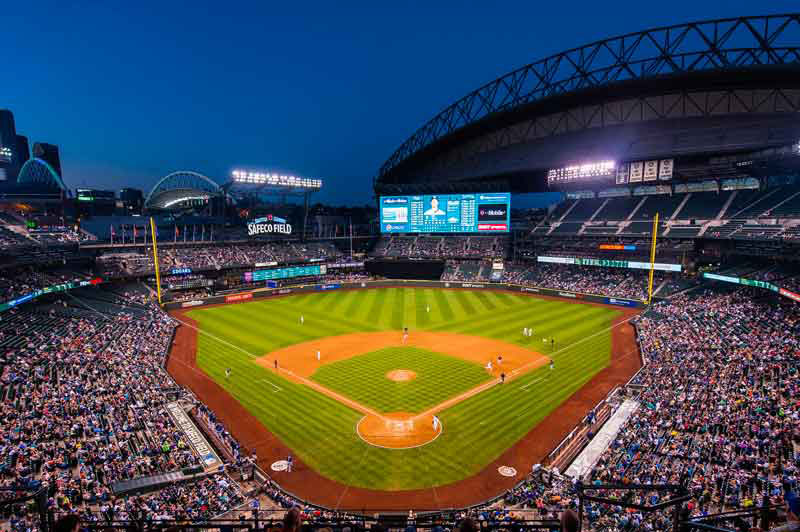 Safeco Field, Seattle. Photo courtesy of ballparksofbaseball.com.