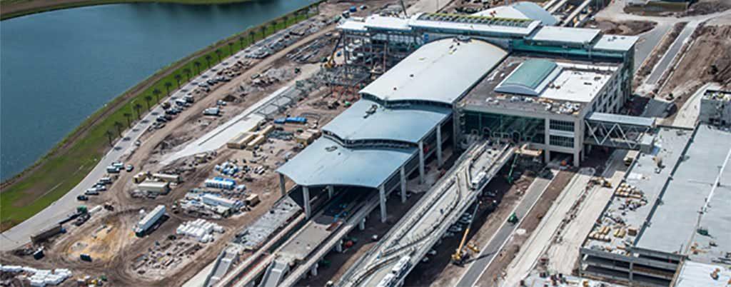 Terminal Construction. Photo courtesy of Prime Electrical Services Inc.