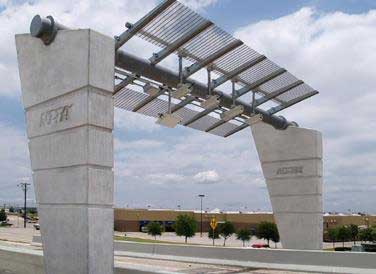 Tollgate on  the Bush Turnpike in North Texas
