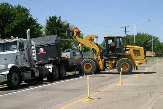 Tollway construction