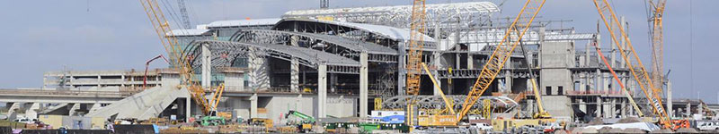 Orlando International Airport construction